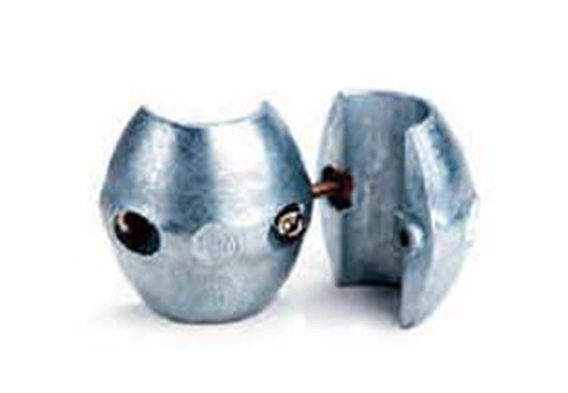 "Picture of X-5 Zimar Shaft Zinc Anode 1-1/4"" Diameter"