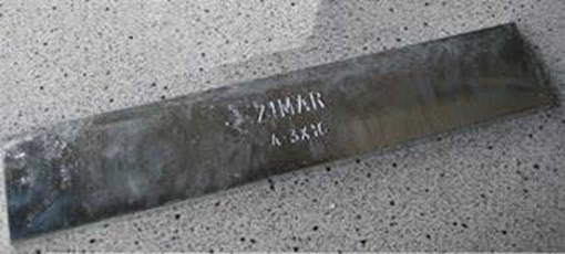 Picture of A-3X16 Bolt On Undrilled Plate Zinc