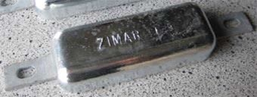 Picture of FE-9 Weld On Plate Zinc