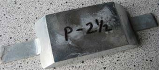 Picture of P-2.5K Weld On Plate Zinc