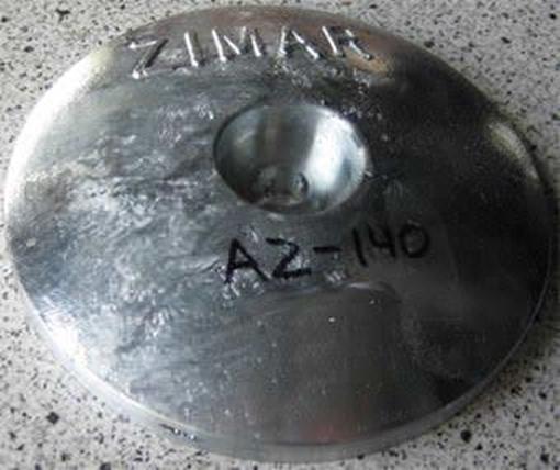 Picture of AZ-140 Round Plate Zinc