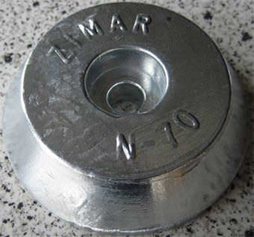 Picture of N-70 Round Plate Zinc