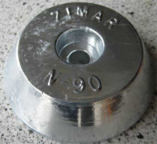 Picture of N-90 Round Plate Zinc