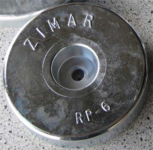 Picture of RP-6 Round Plate Zinc