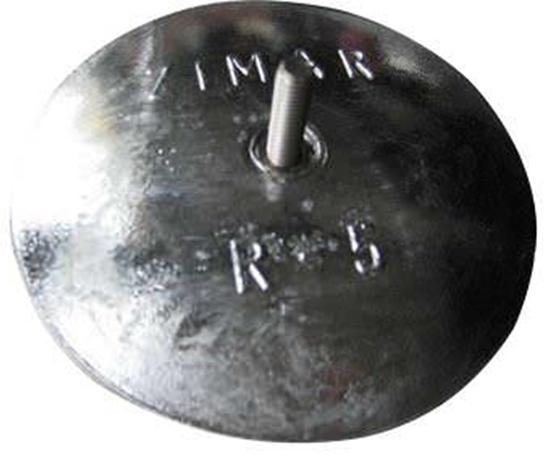 "Picture of R-5 5-1/16"" Rudder Zinc"