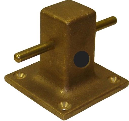 Picture of 00MB5X5H Mooring Bitts with Rope Hole