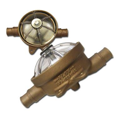 Picture for category Low Profile Bronze Intake Water Strainers