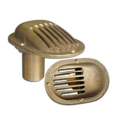 Picture for category Oval Base Thru Hull Style Bronze Intake Strainers