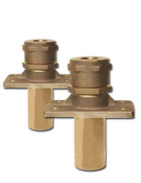 Picture for category Inside Mount Rectangular Flange Bronze Rudder Ports