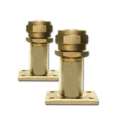 Picture for category Outside Mount Rectangular Flange Bronze Rudder Ports