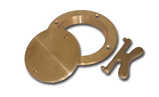 Picture of 00DP400 Buck Algonquin Bronze Deck Plates