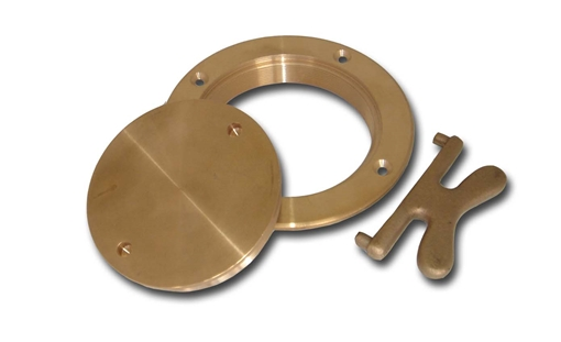 Picture of 00DP500 Buck Algonquin Bronze Deck Plates