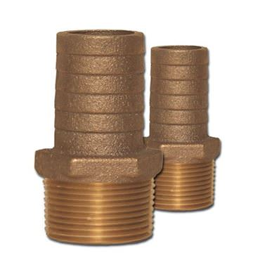 Picture for category Combination Bronze Pipe to Hose Adapters