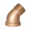 Picture of 00103H100 45 Degree Bronze Street Elbows