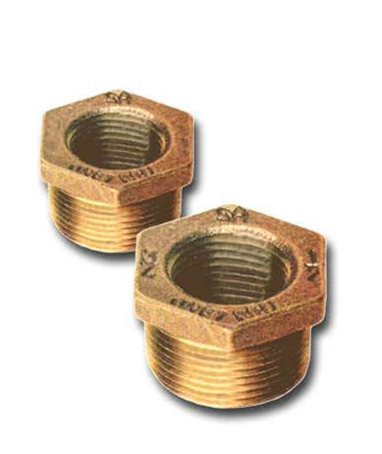 00114125100 Bronze Hex Bushings