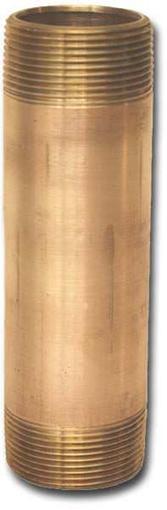 00100X04LN Bronze Long Nipples