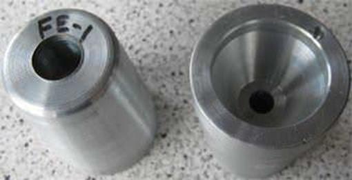 FE-1 Zimar Nut Zinc Anode