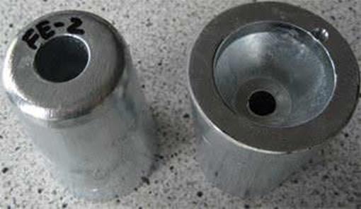 FE-2 Zimar Nut Zinc Anode