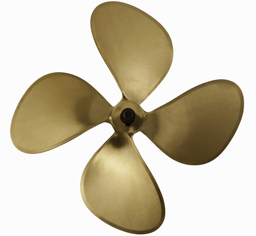 Picture of 19 inch DynaQuad 4 Blade Bronze Prop