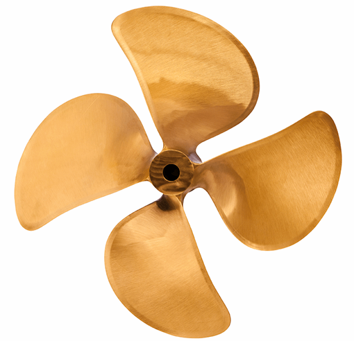 Picture of 17 inch DQX 4 Blade Bronze Prop