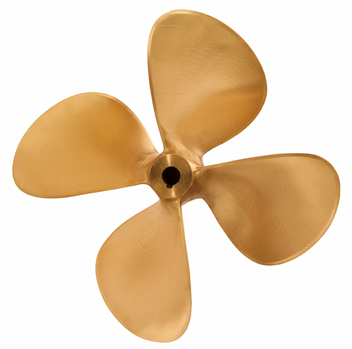 Picture of 18 inch DQ469 4 Blade Bronze Prop