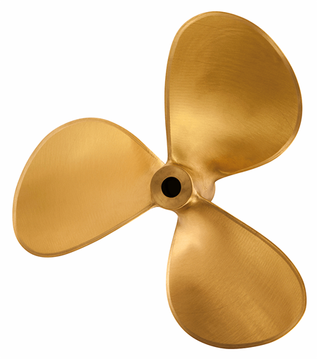 Picture of 12 inch 3 Blade MP3 Bronze Prop