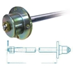 Fit and Face Coupling to Shaft