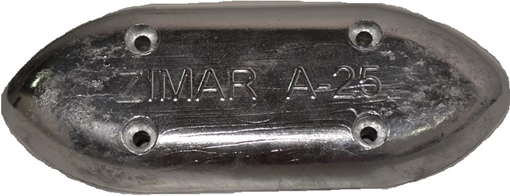 Picture of A-25 Bolt On Drilled Plate Zinc