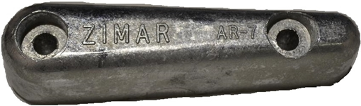 Picture of AR-6 Bolt On Drilled Plate Zinc