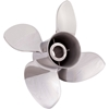 Rubex Stainless 15-1/4 x 22 LH 9574-153-22 four blade prop