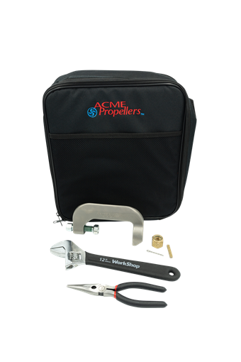 ACME 4999 Propeller case with c clamp puller