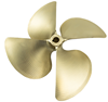 ACME 1579 wake boat propeller