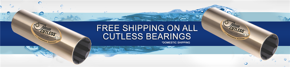 free shipping on brass cutlass bearings